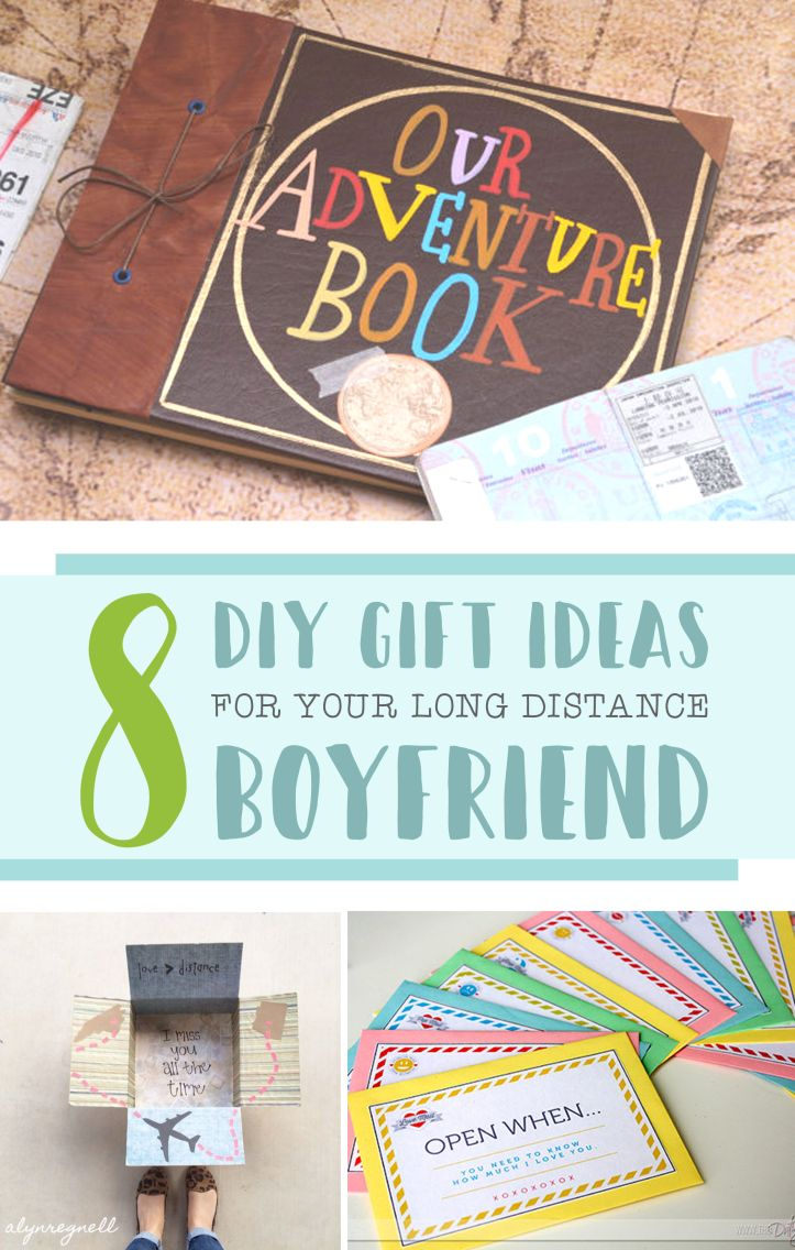 8 DIY Gift Ideas for Your Long Distance Boyfriend Long