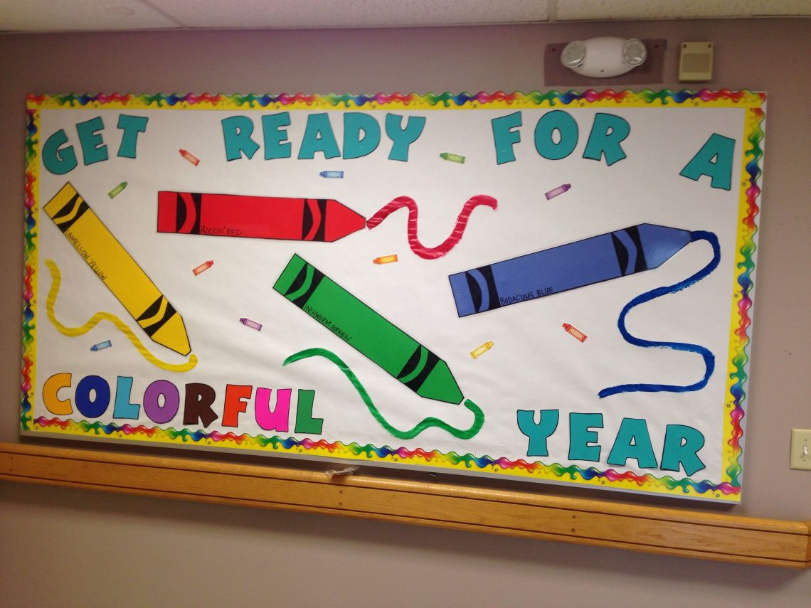 Wow The Class With These Cool Back To School Bulletin Board Ideas Onecreativemommy Com