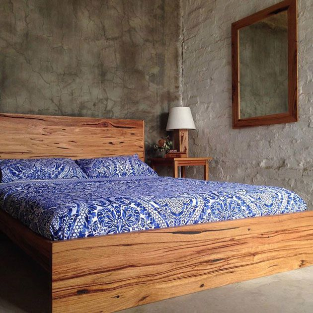 Recycled Timber Bed By Retrograde Furniture Melbourne