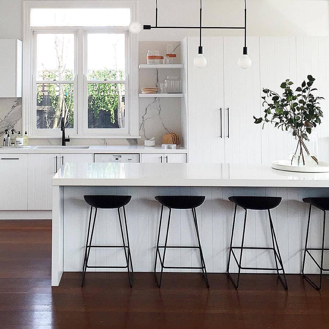 This striking kitchen design by littlelibertyrooms