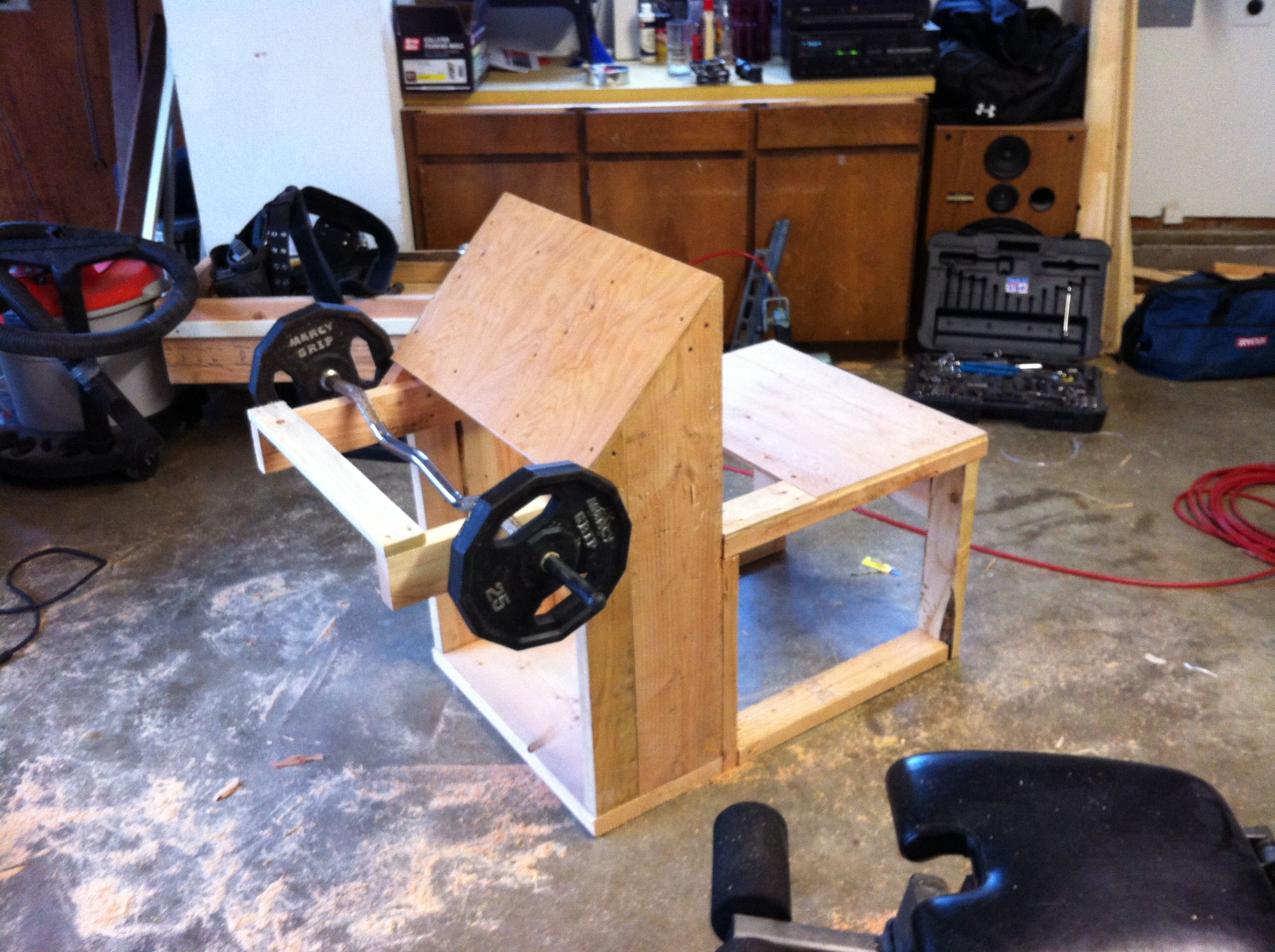 My Home built gym equipment My House Pinterest Gym