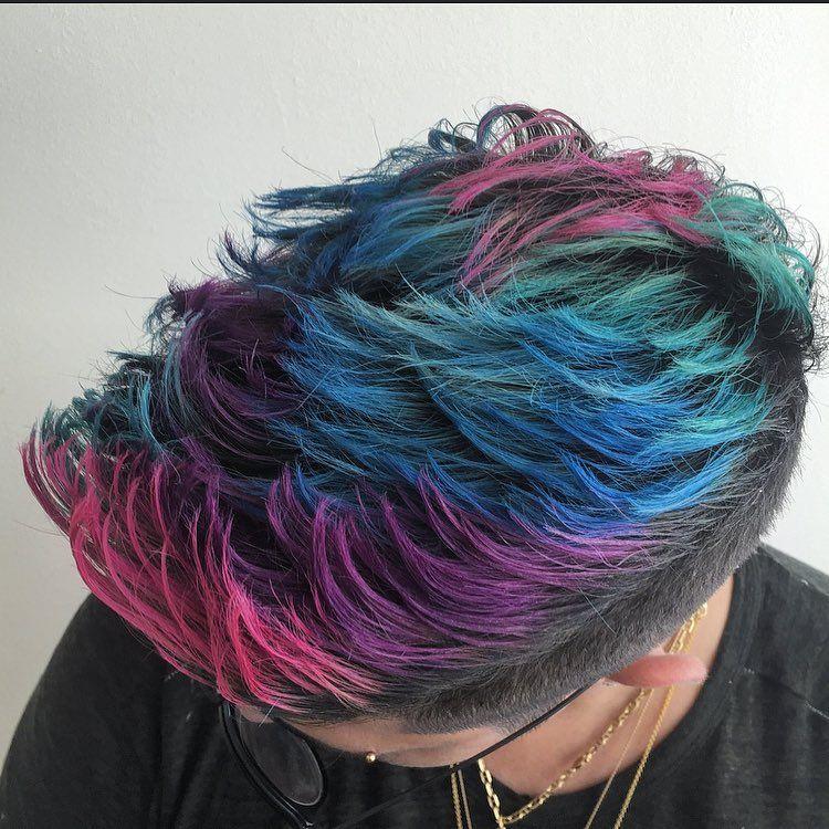 Cool Hair Dye Ideas For Black Guys