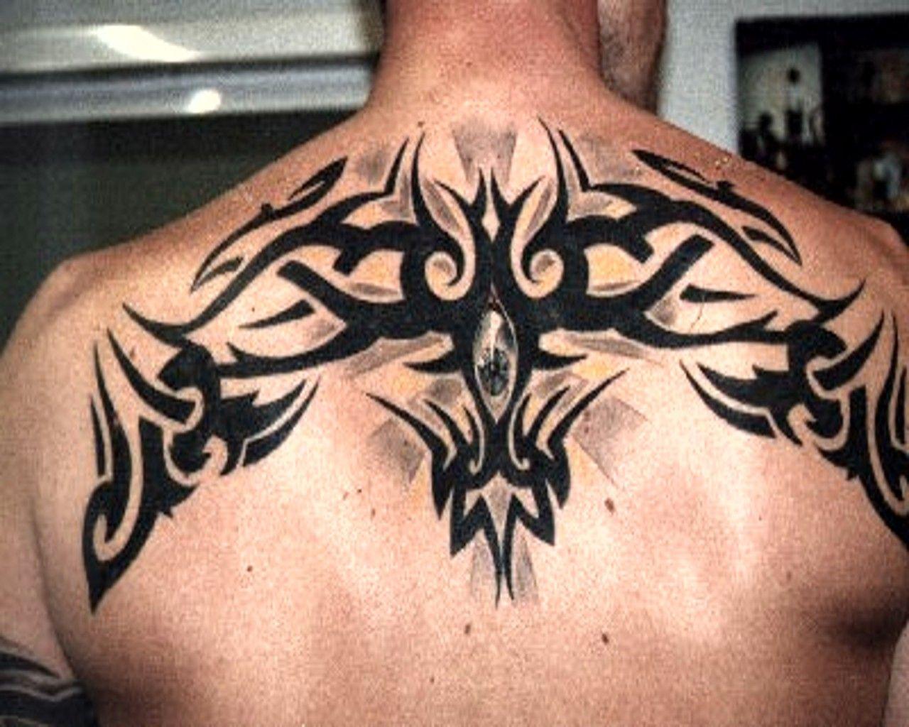 Upper Back Celtic Design Tattoo's Pinterest Tattoo