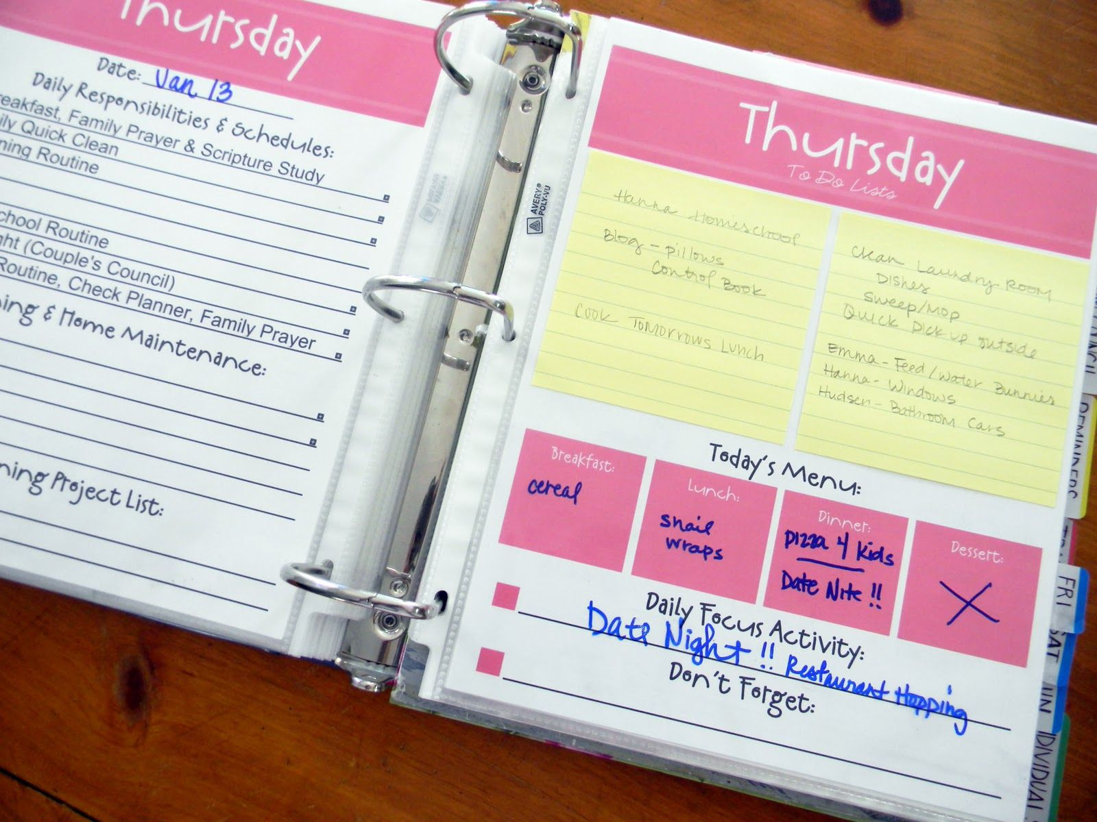 Free Organizer Templates free printable monthly bill organizer – Free Business Printables