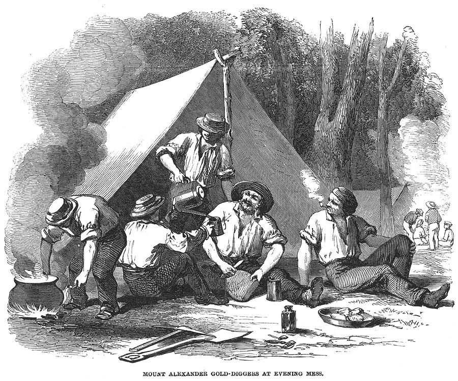 The Gold Rush The California Gold Rush (18481855) began