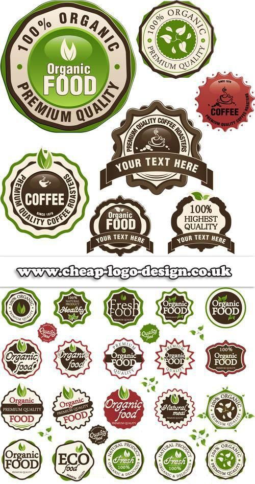 organic food logo design ideas www.cheaplogodesign.co.uk