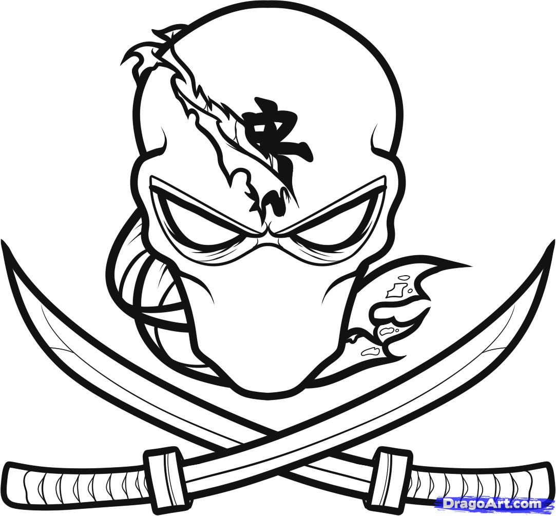 Cool Things To Draw Ninja