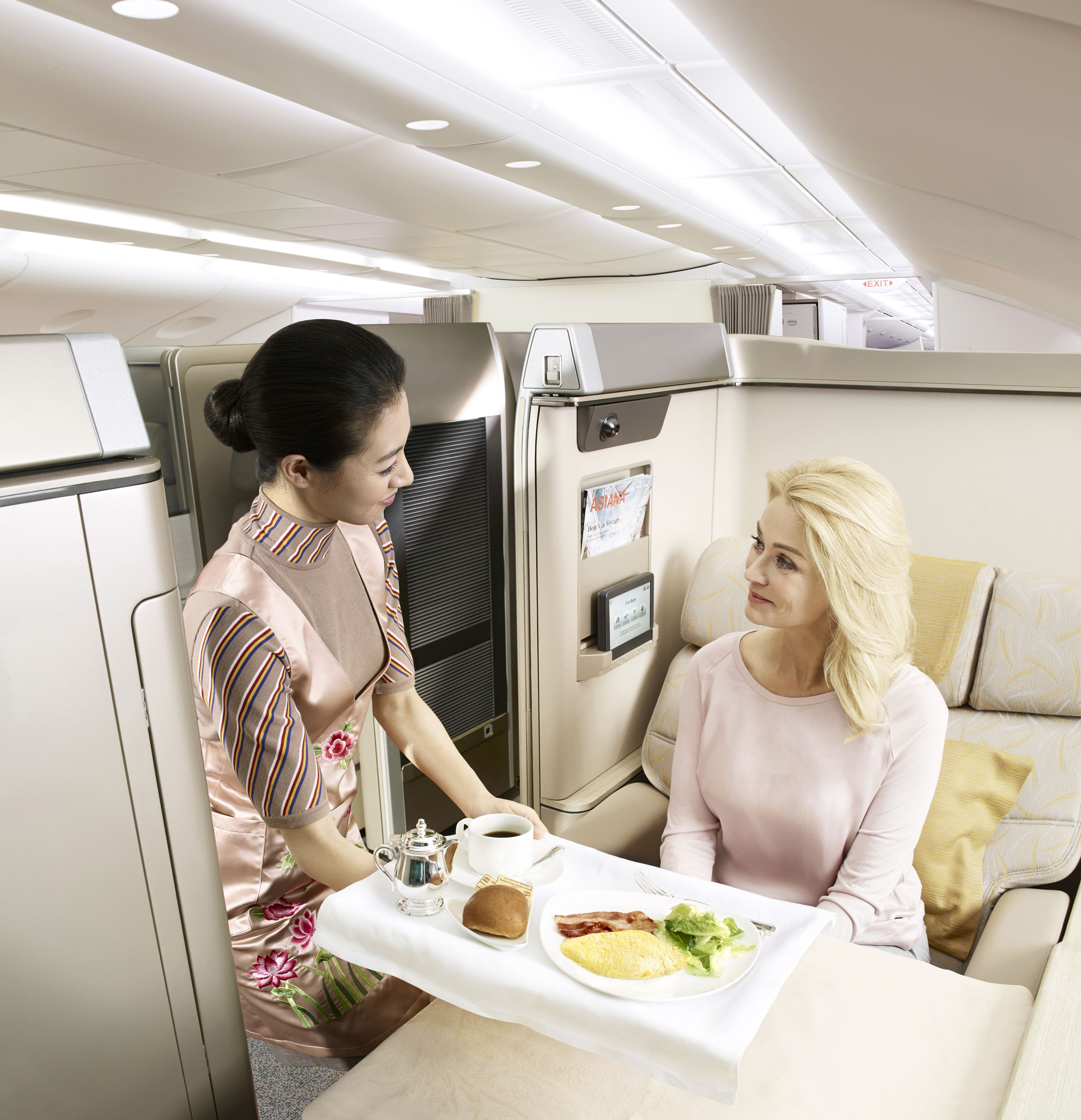 We offer a special inflight meal service for those who do