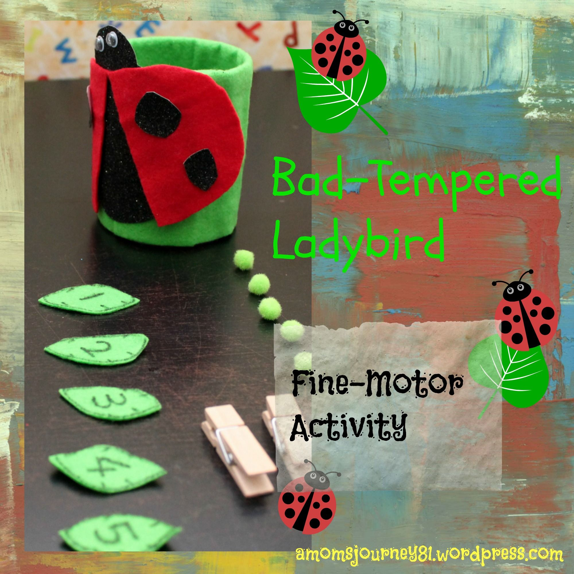 The Bad Tempered Ladybird Activities