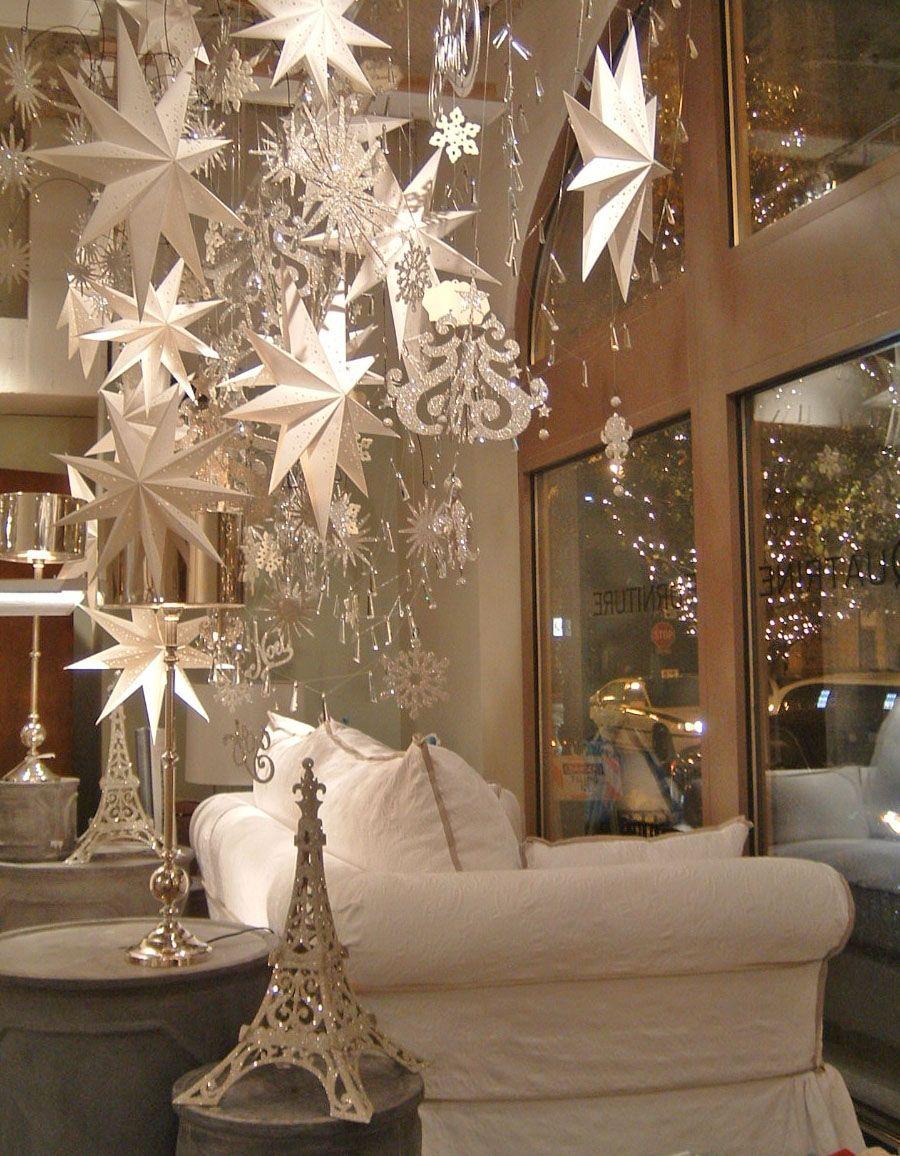 Quatrine Winter Window Window Displays Pinterest