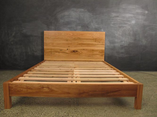 Recycled Messmate Timber Flat Headboard