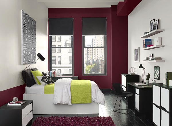 Top 25 Ideas About Burgundy On Pinterest Accent Walls Pillow Covers And Bedroom