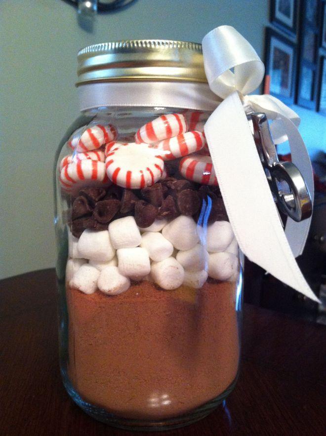 Diy gift hot cocoa jar hot cocoa httpwww