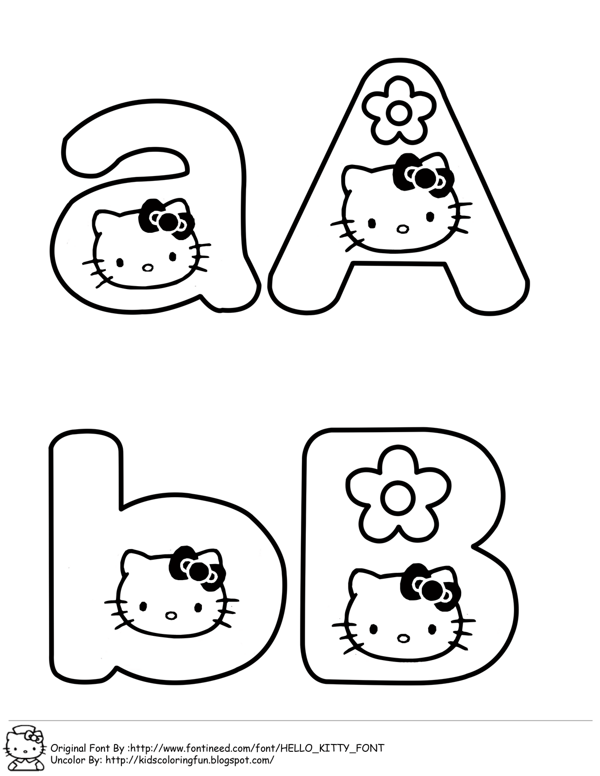 Learning Abc With Hello Kitty