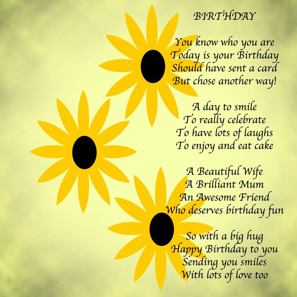 A Birthday Message Birthday messages, Messages and