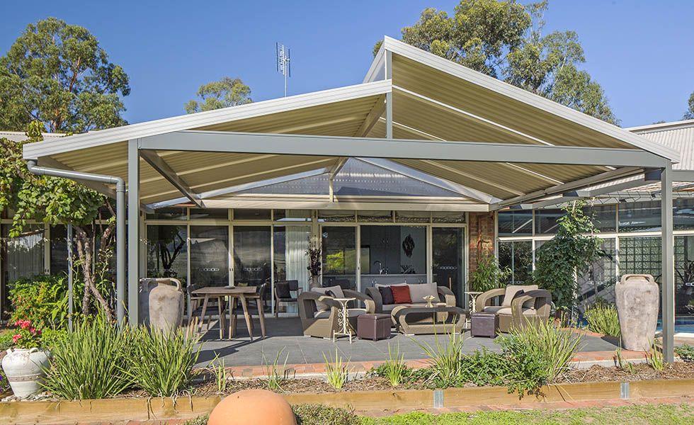 skillion roof carport Spanline skillion roofing patio