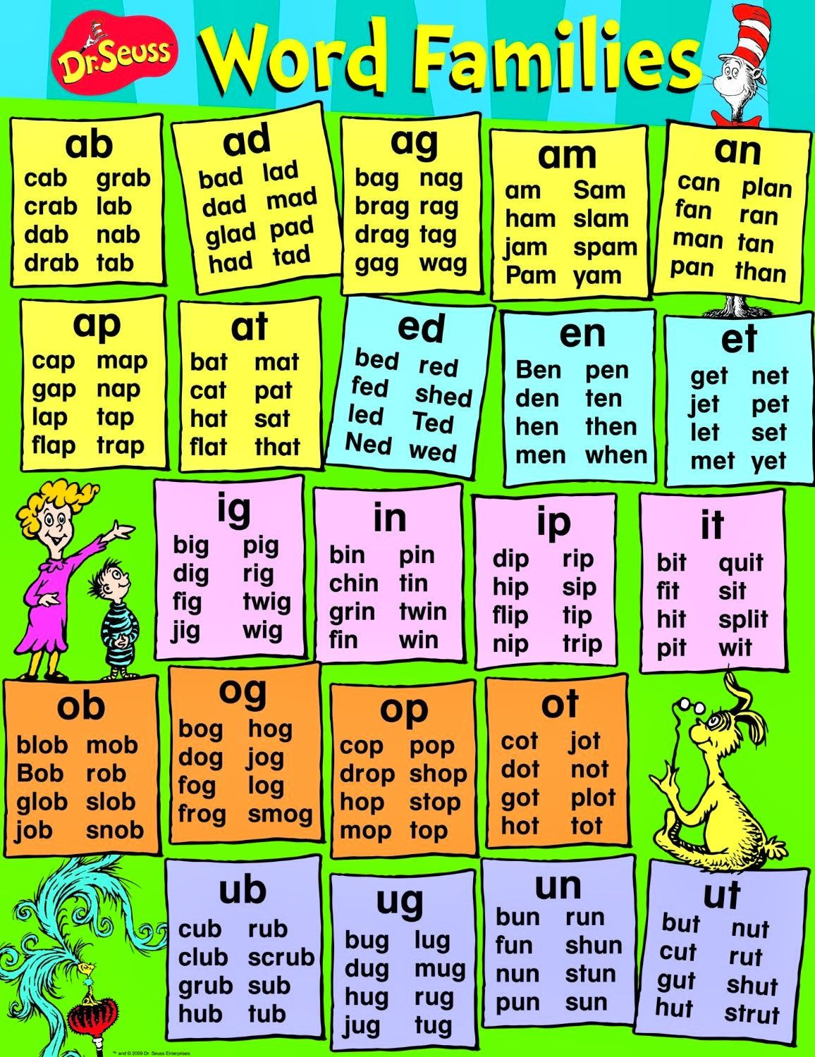 Dr Seuss Free Activities And Other Resources For Kids