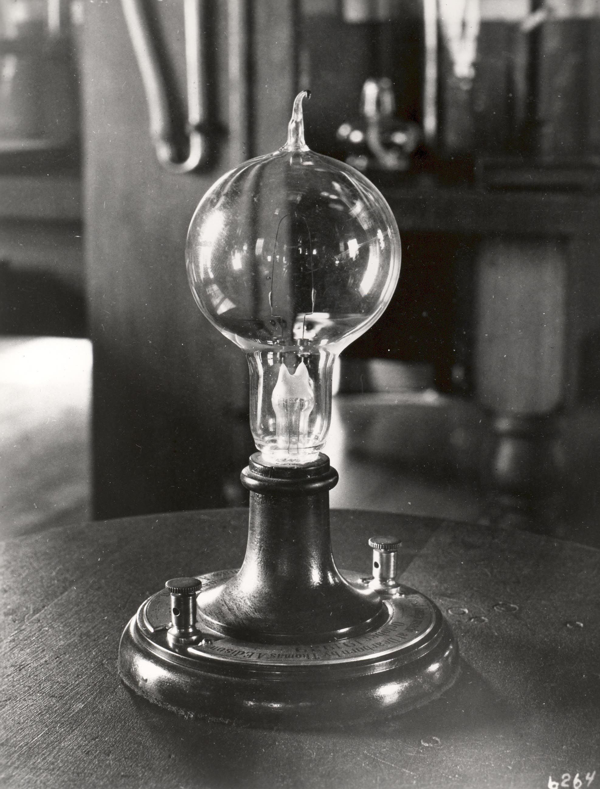 Corning invented the glass bulb for Thomas Edison's first