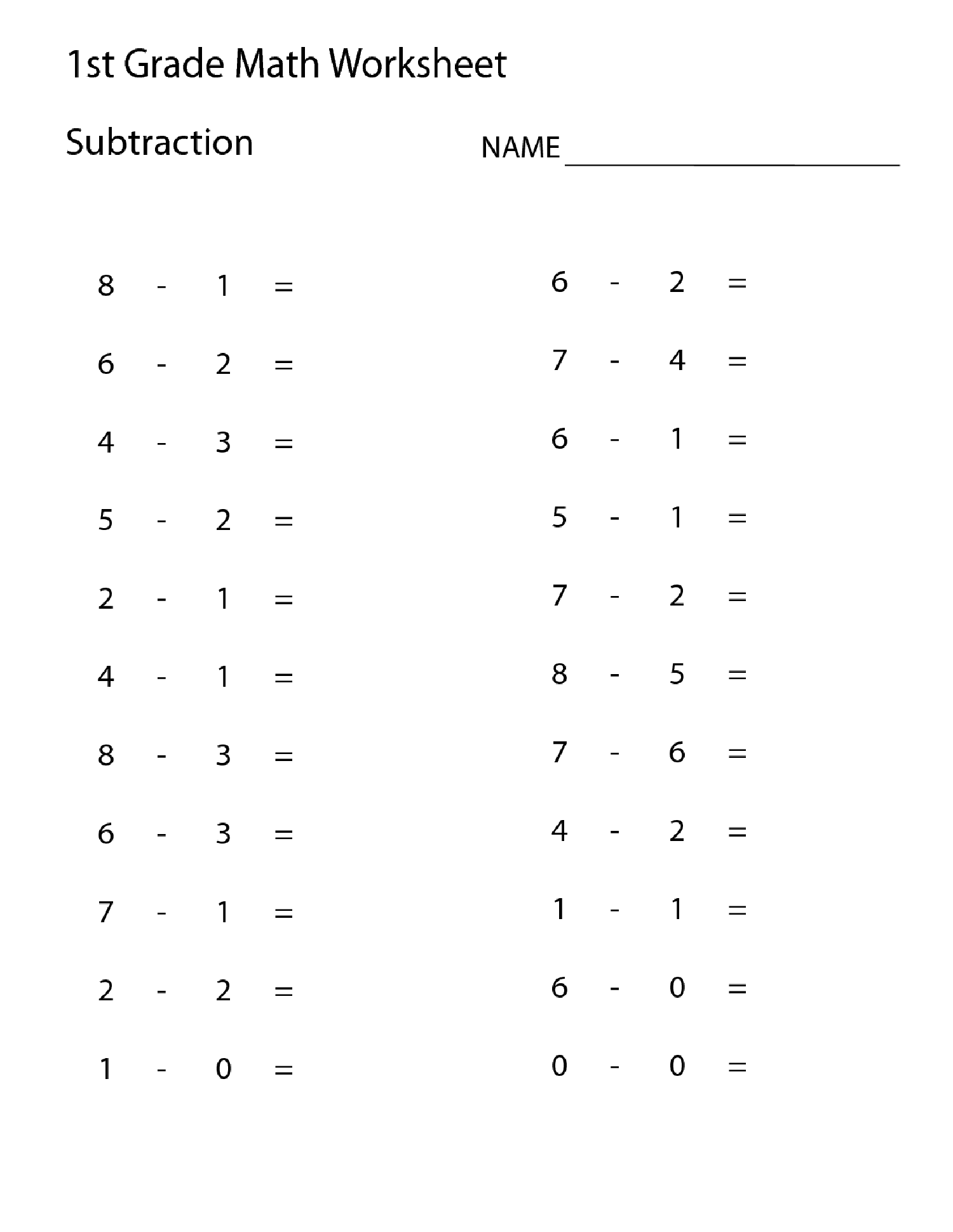 Valentine S Second Grade Math Worksheet