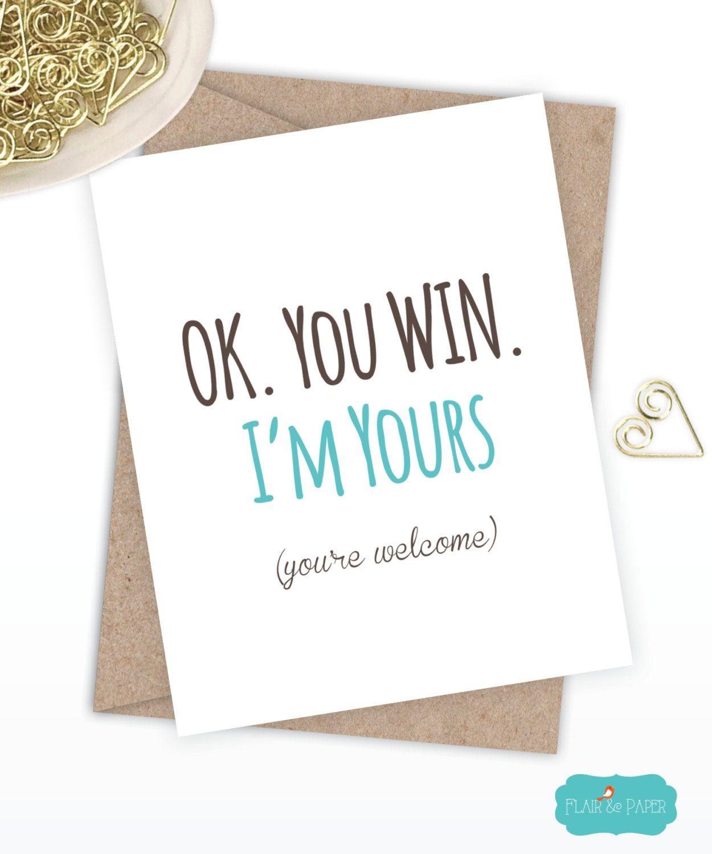 Funny Birthday Card Boyfriend Card Funny Girlfriend