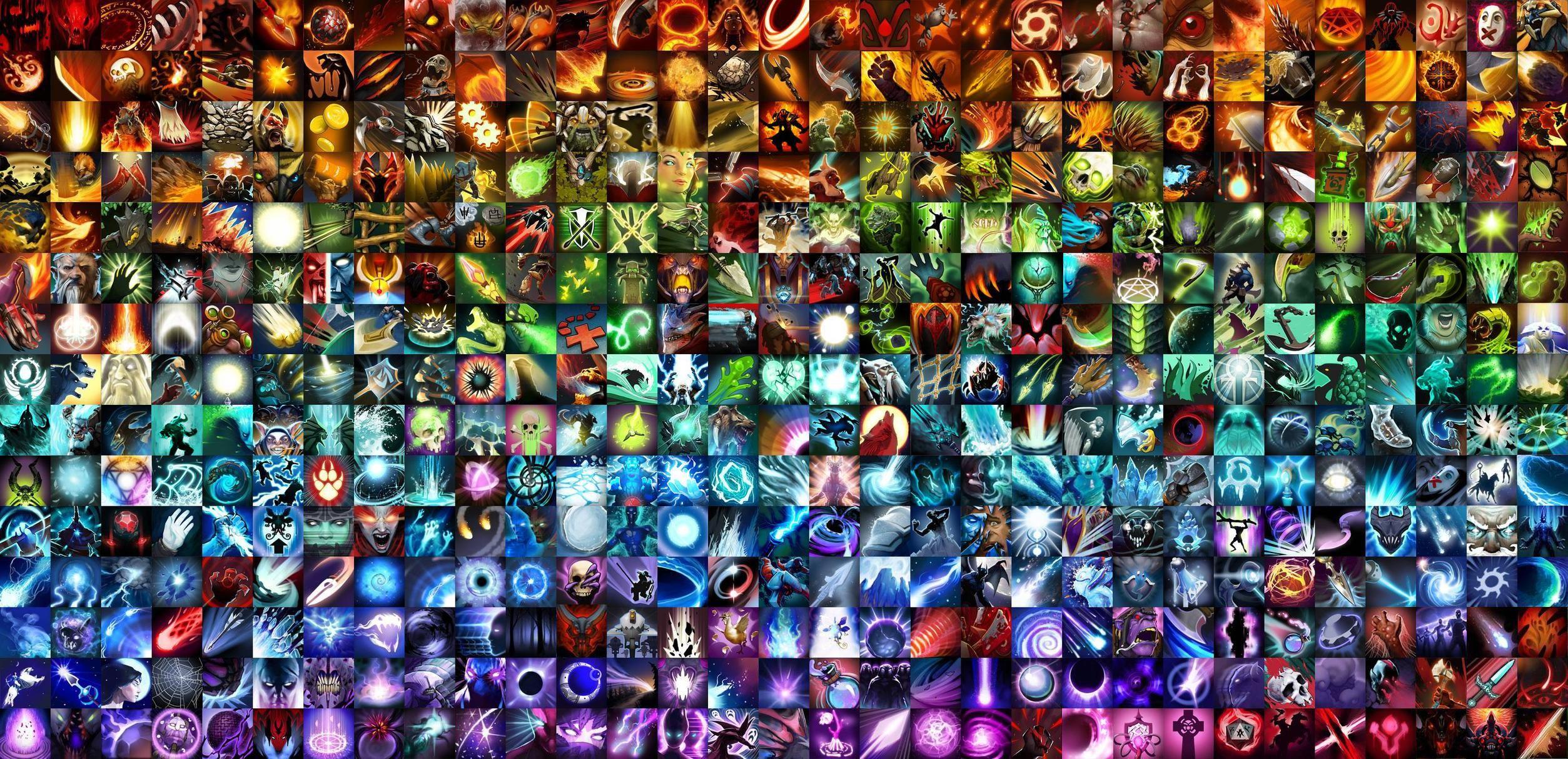 Dota 2 Ability icons Desktop photos, Icons and Game design