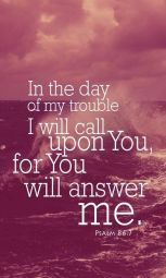 Image result for psalm 86:7