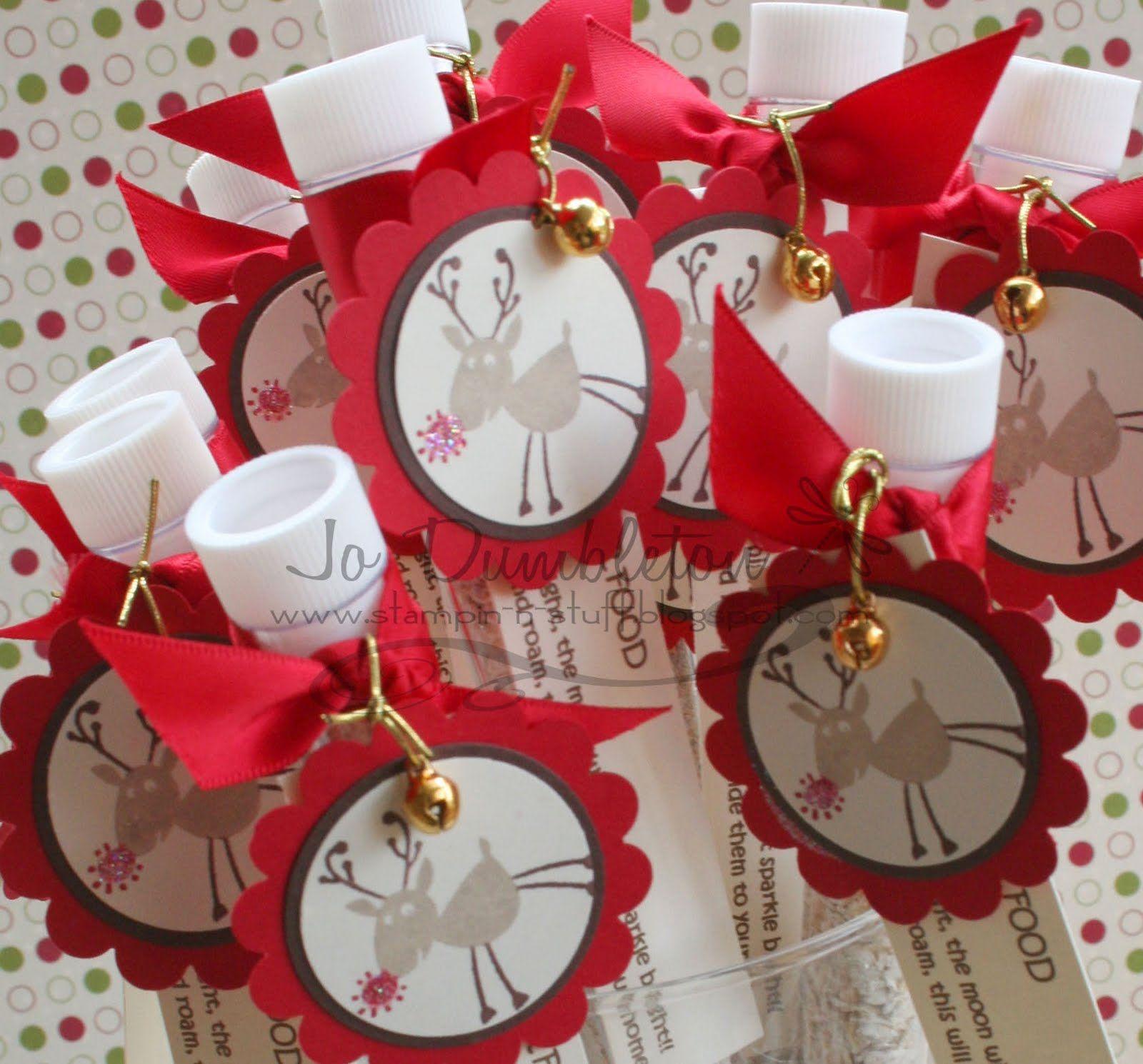 Craft Ideas to Sell Stampin 'n Stuff Magic Reindeer