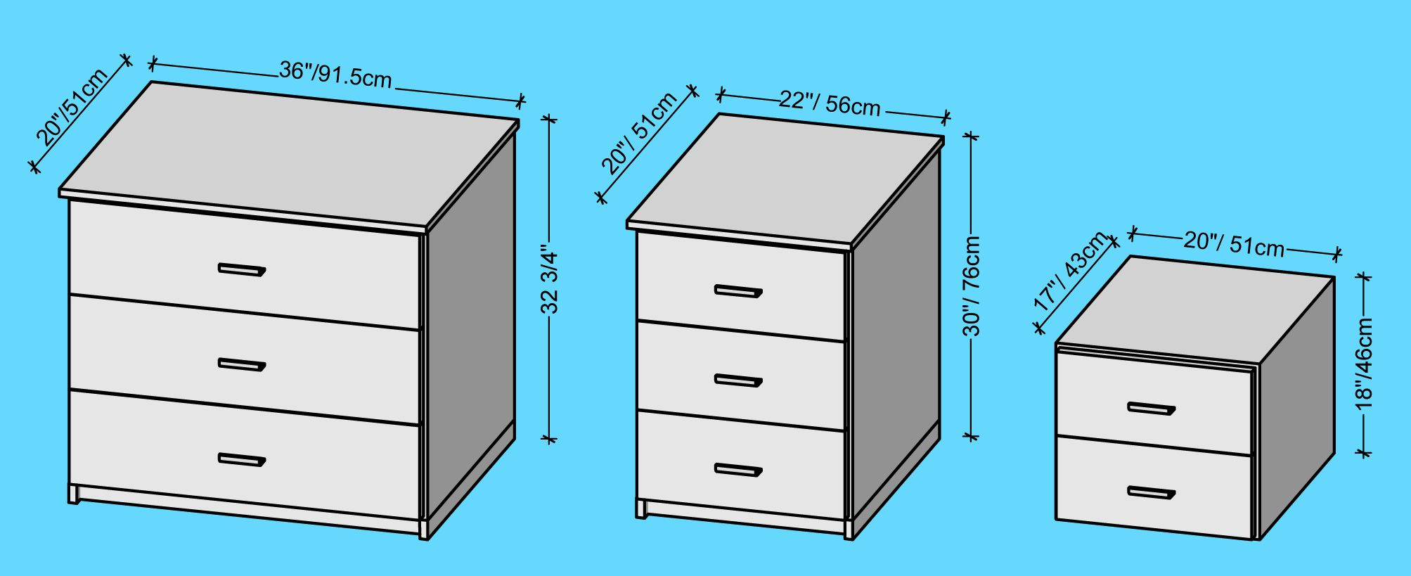 Image result for height of bedside table Ergonomics