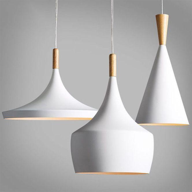 Modern Wood Metal Light Chandelier Pendant Lighting Ceiling Fixture White 3550u Ebay