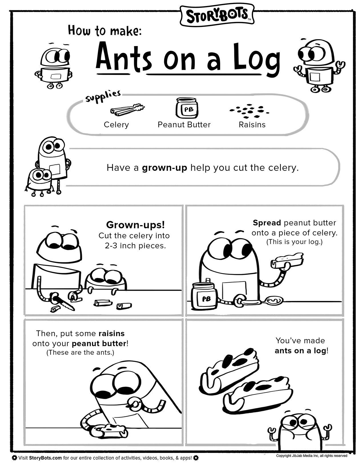 Make Ants On A Log