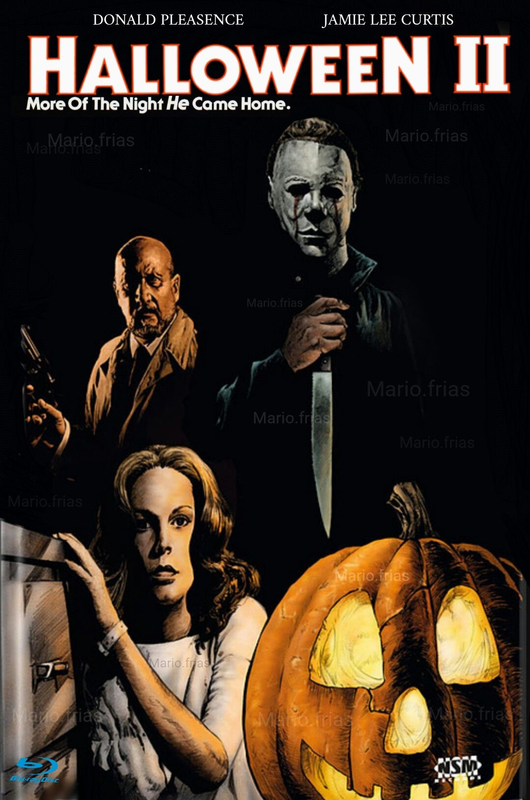 Halloween 2 Horror Movie Slasher Jamie Lee Curtis horror