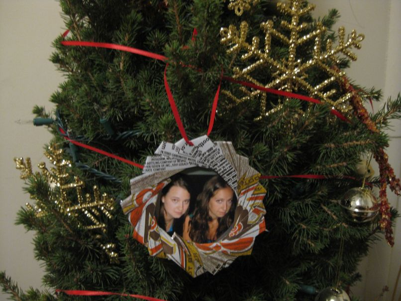 homemade picture frame ornaments | Frameswalls.org