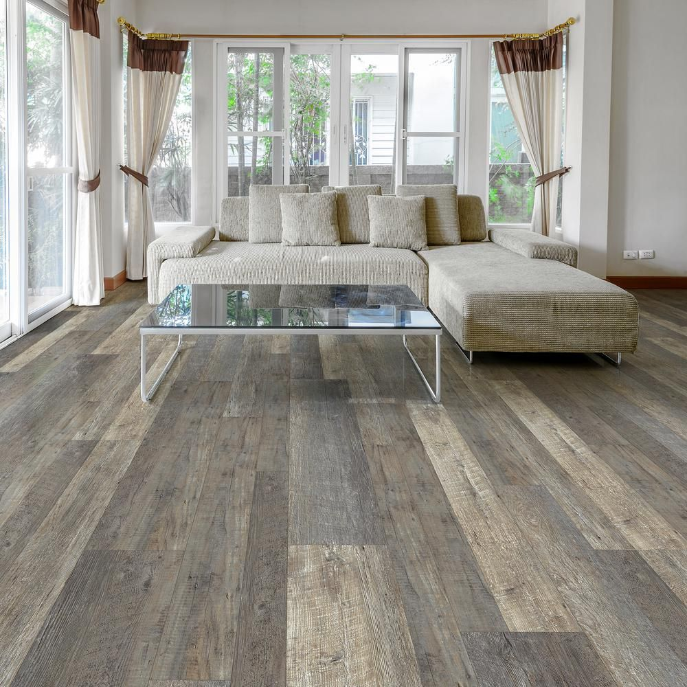 MultiWidth x 47.6 in. Metropolitan Oak Luxury Vinyl Plank