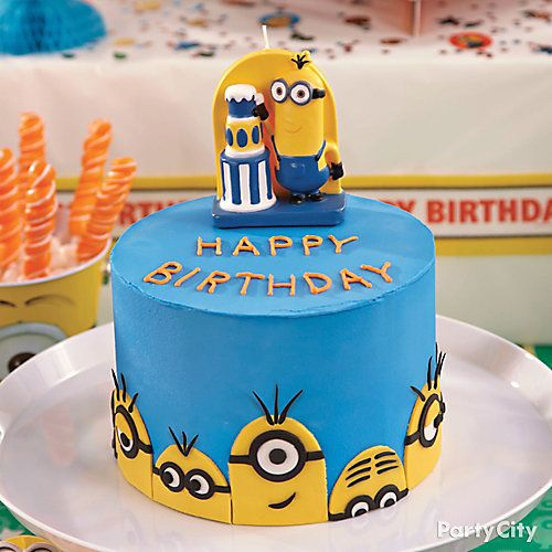 Minions Birthday Cakes The Best Cake Of 2018