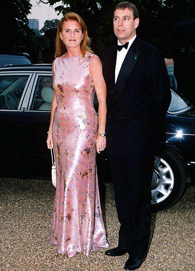 Talking point...The Duke and Duchess of York, pictured