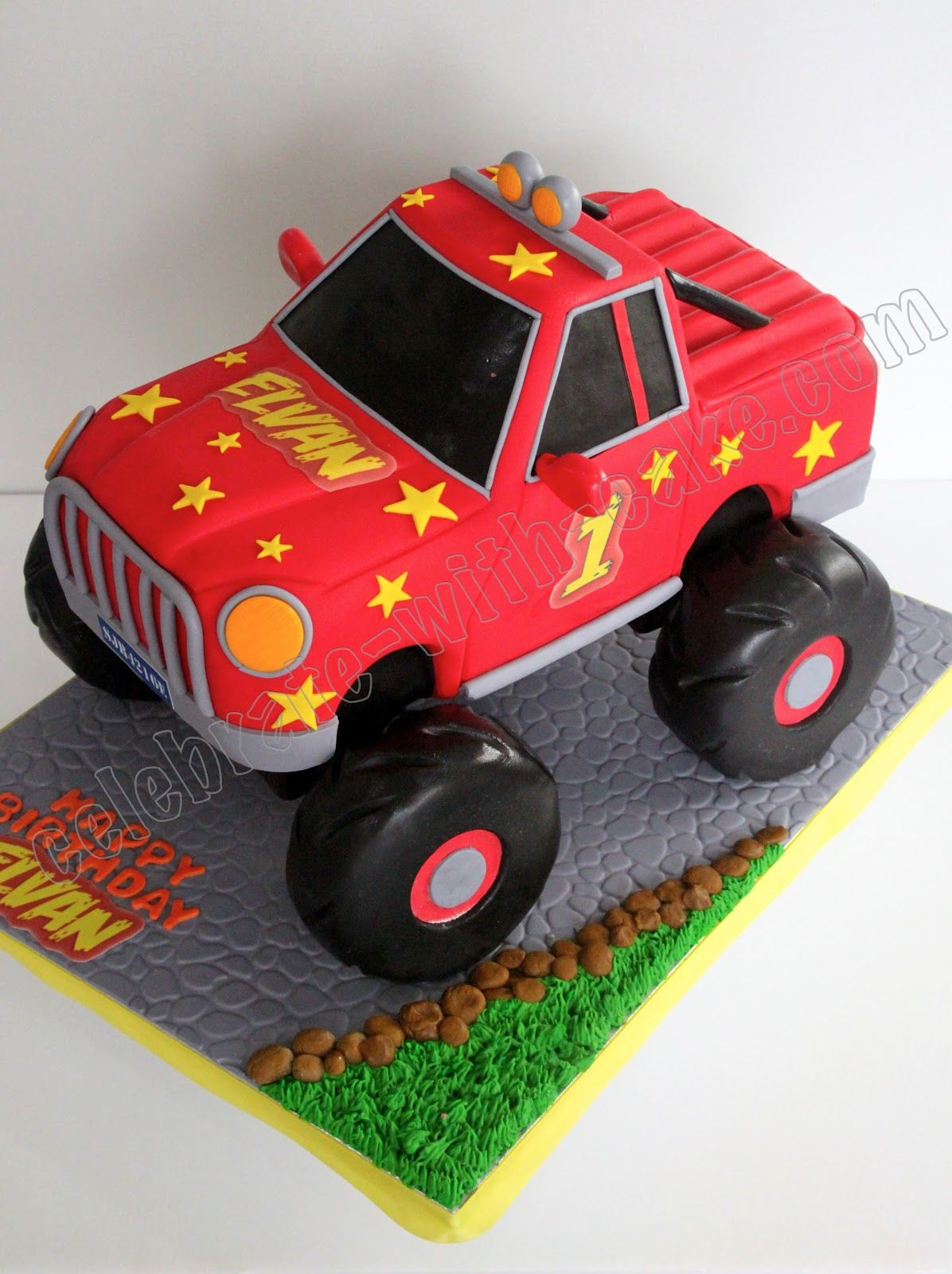Monster Truck Cake Lennox Would Love This