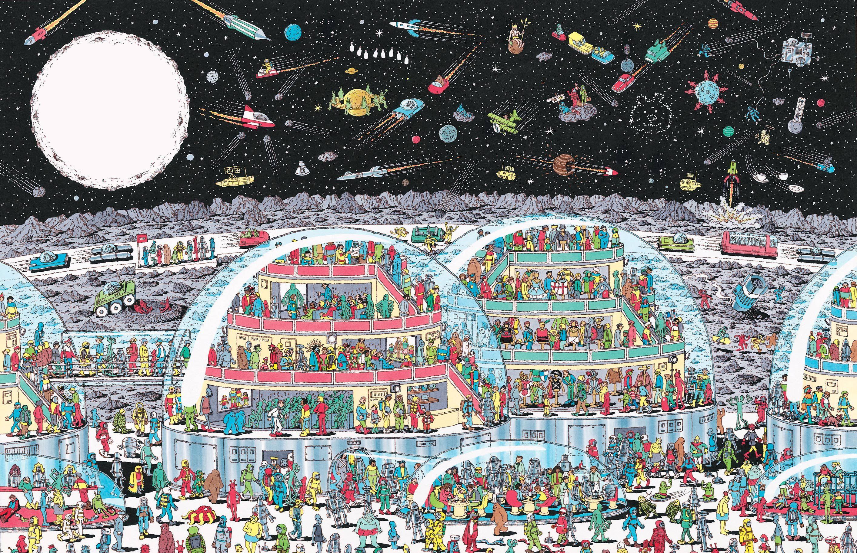 Where S Waldo Mobile Future Map Where S Wally Where S Waldo