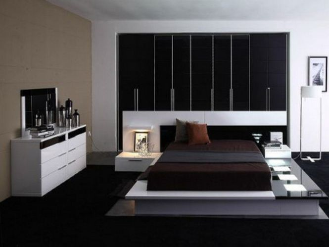 Contemporary White Gloss Dresser Bedroom Cabinets As Well Black Cover Low Profile Master Bed Frames
