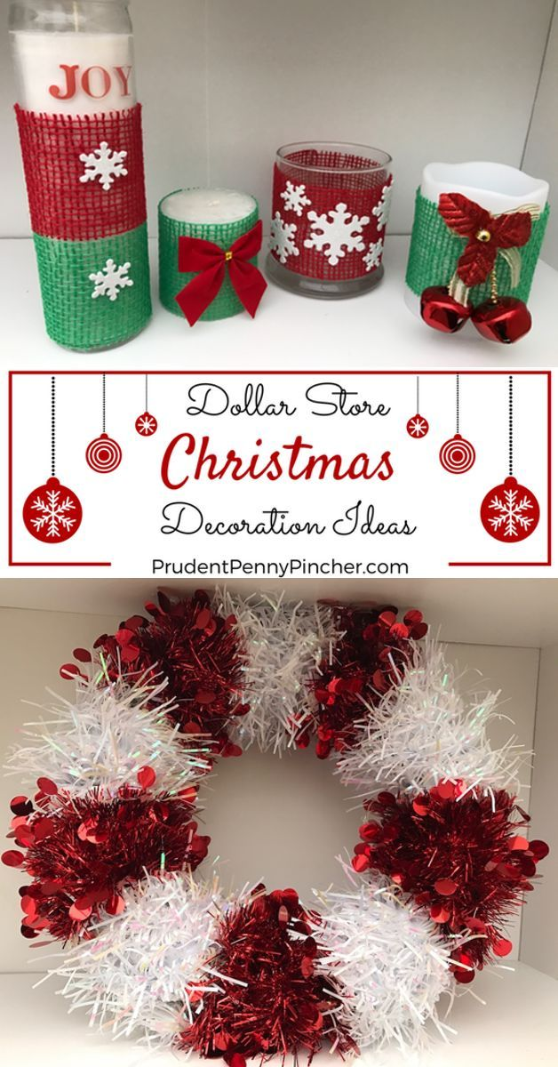 DIY Dollar Store Christmas Decorations DIY Christmas