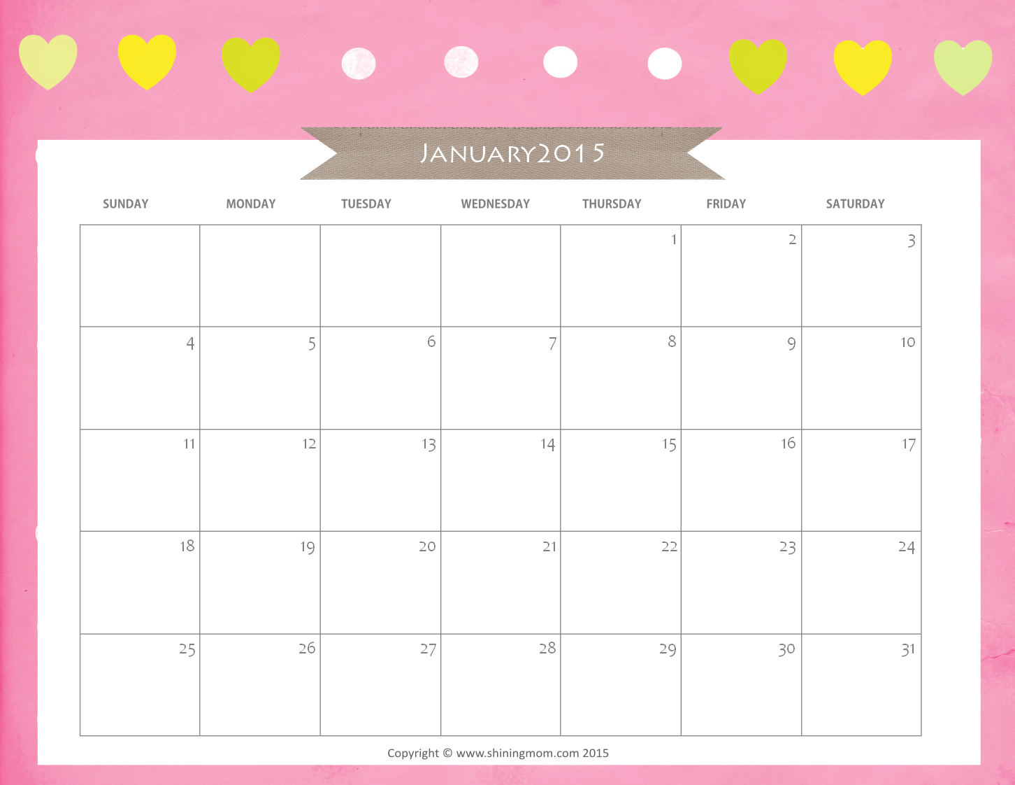 love free february calendar and free printable on pinterest
