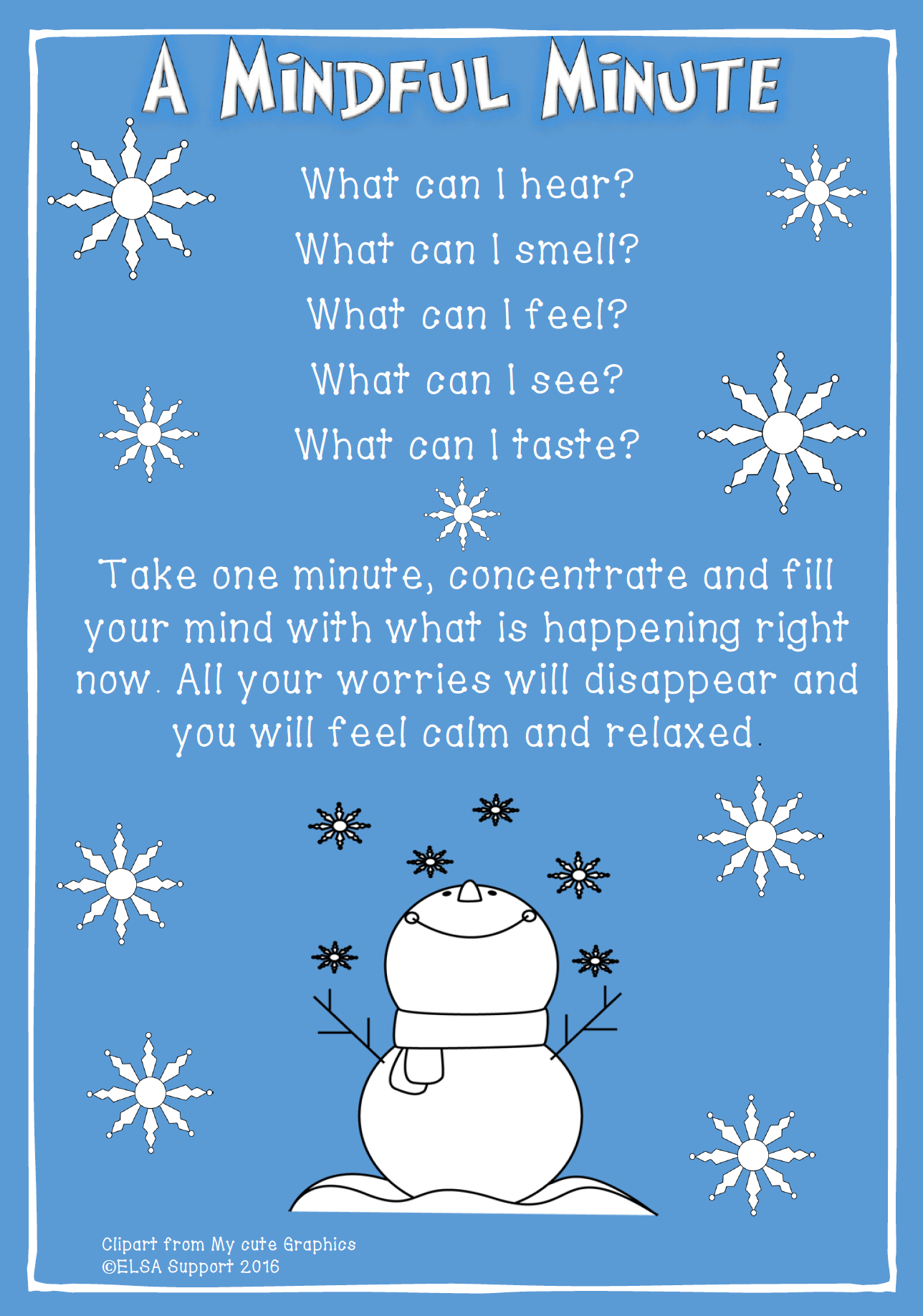 Mindful Minute