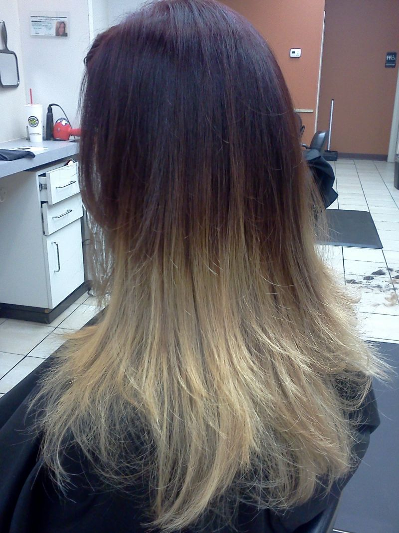 Hair Cuttery Color Images Hair Coloring Ombre