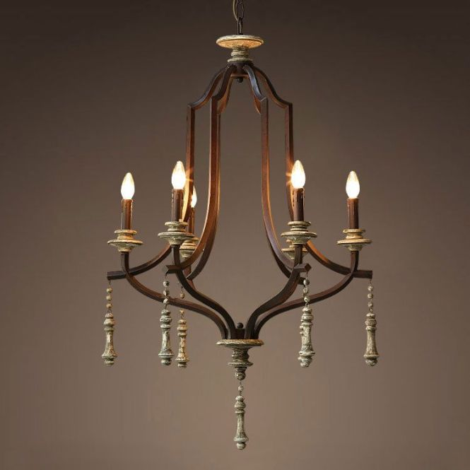 Find More Pendant Lights Information About Nordic Expression American French Country Vintage Wrought Iron Lamps Jarvis Wood