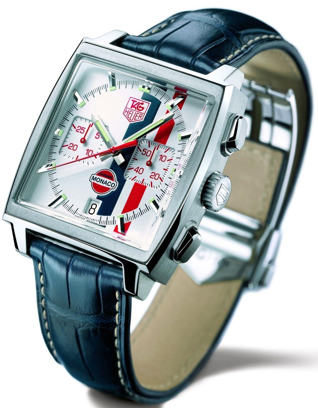 TAG Heuer Monaco Stripes Stars? TAG Heuer Watch Reviews