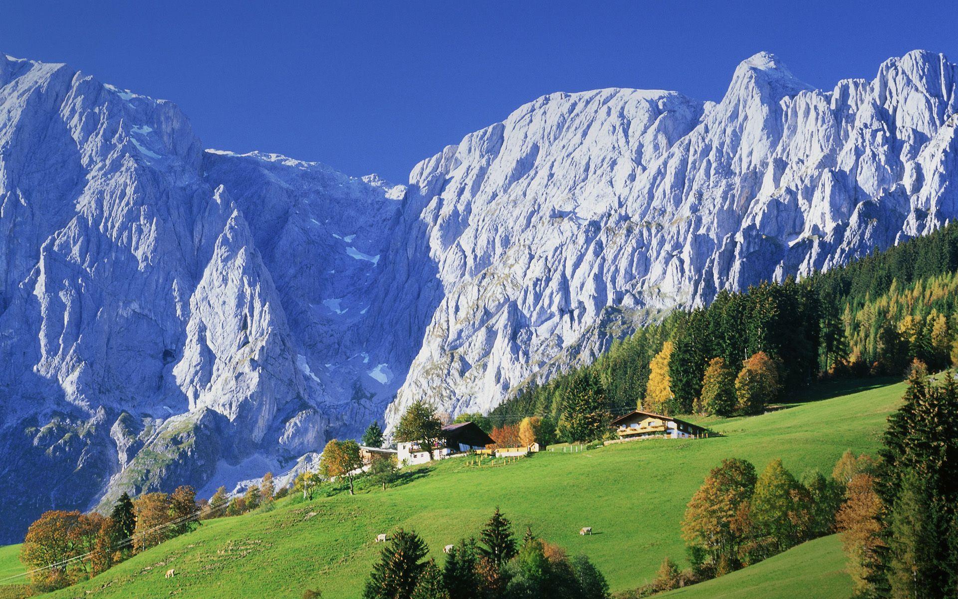 Austria Mountains anyone else thinking Heidi? ) ¤ I