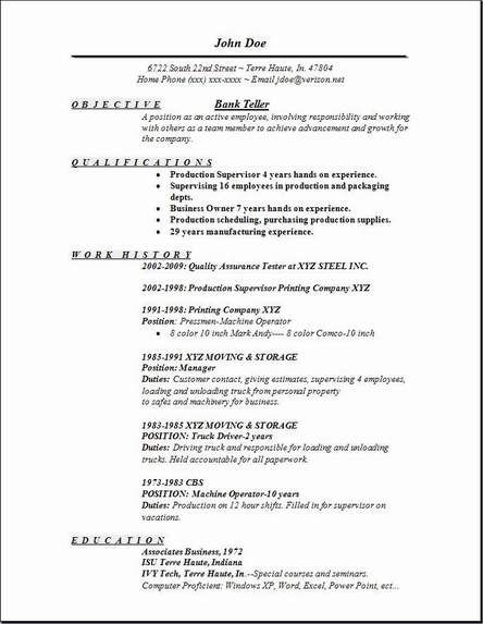 Resume Samples Sample Format Writing Tips Banking Authority Under. Resume  Templates Teller Position Resume Templates Teller Position Sidemcicek