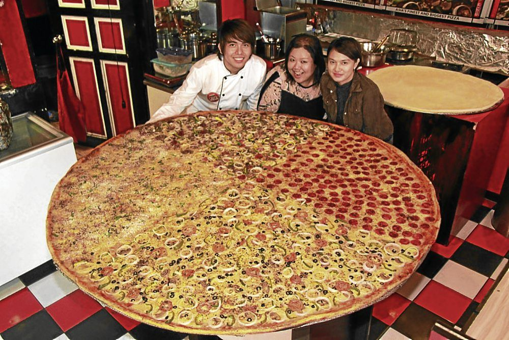 Biggest Pizza in the World With 10 days left till