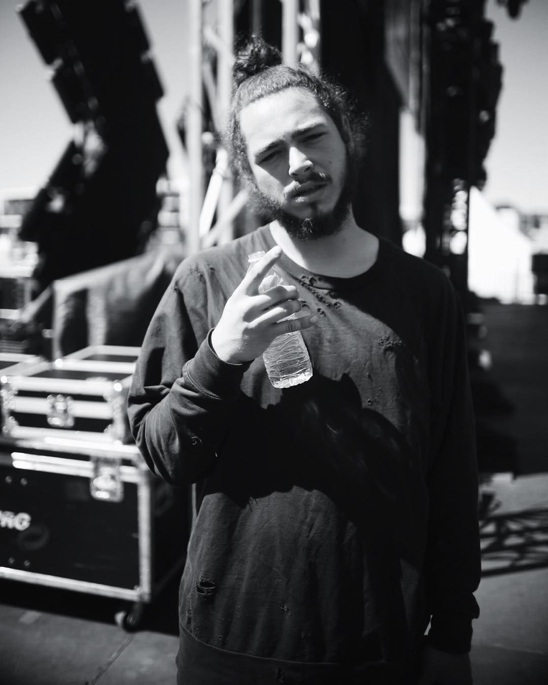 Post[ed] Malone preshow by dan.franco Everything Music