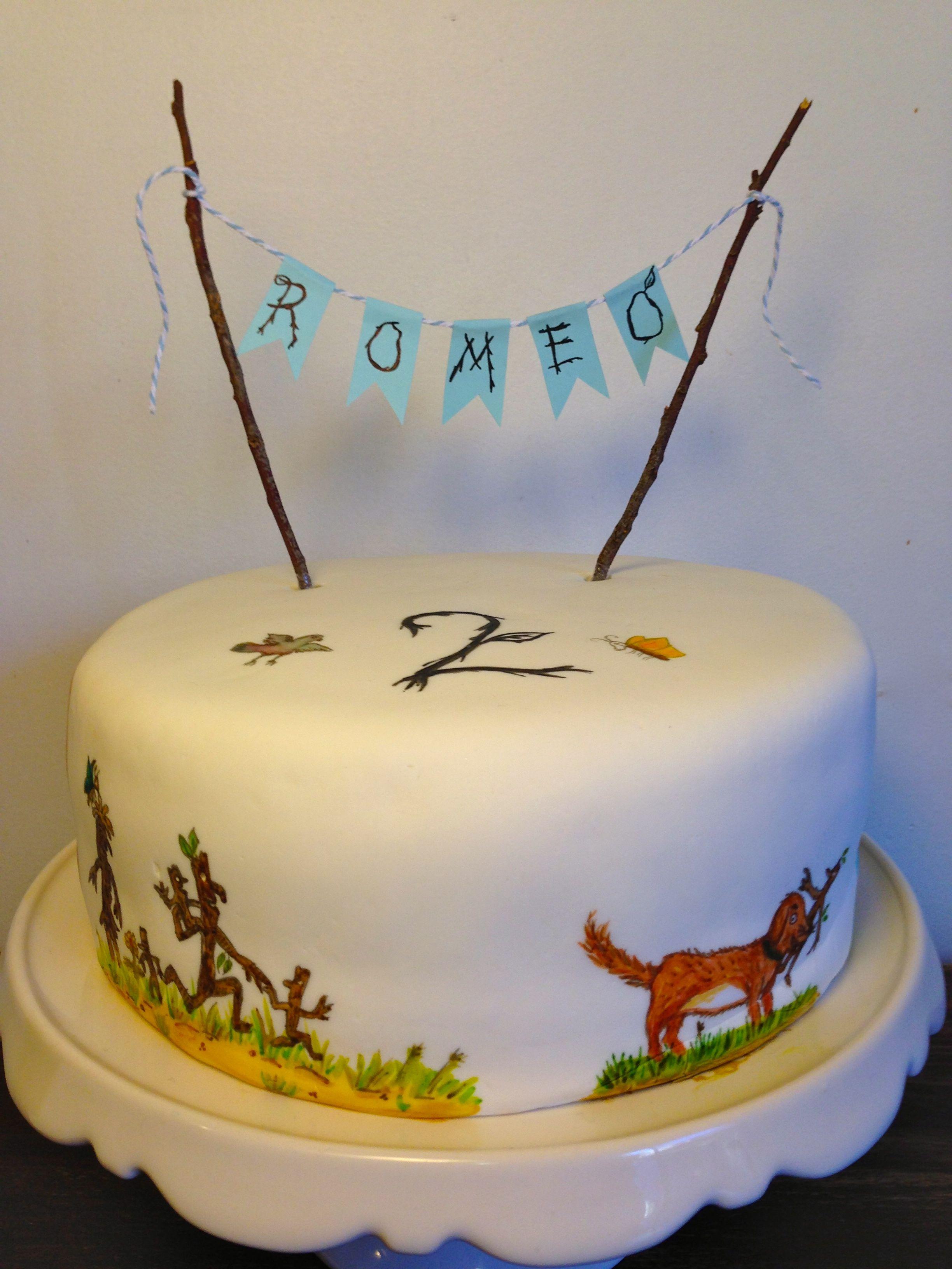 Stick Man Party Cake Julia Donaldson