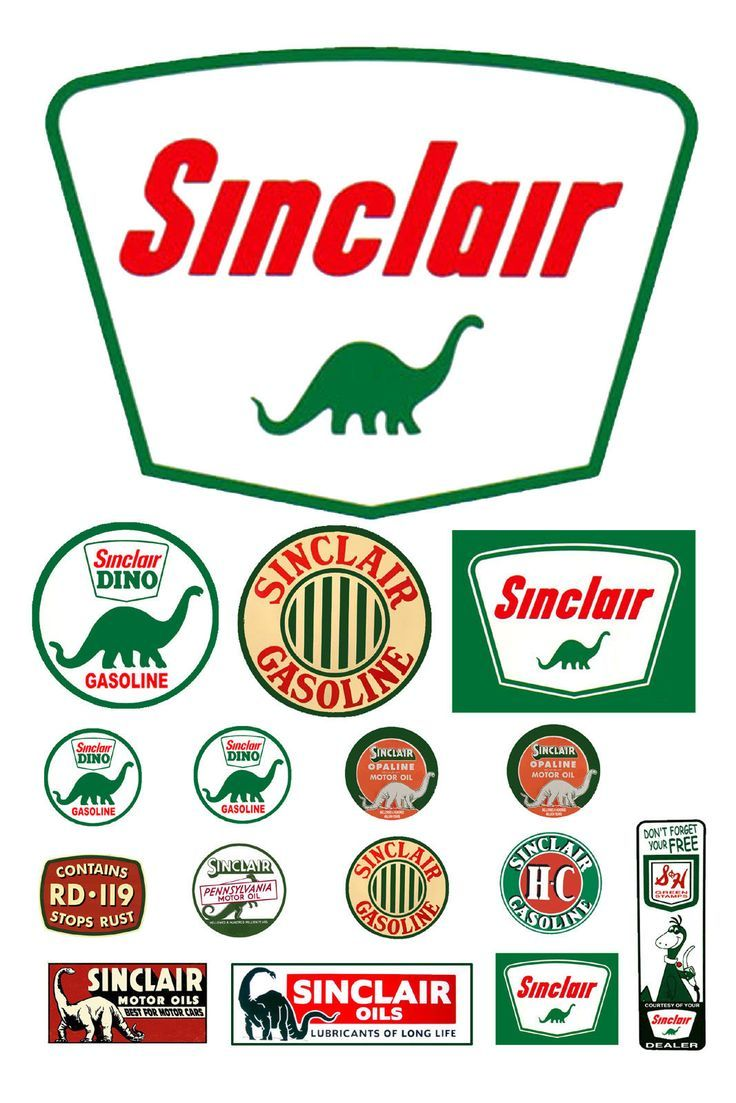 125 G scale model Sinclair Oil gasoline station gas signs
